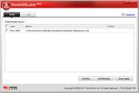 Rootkit Buster rado grėsmę